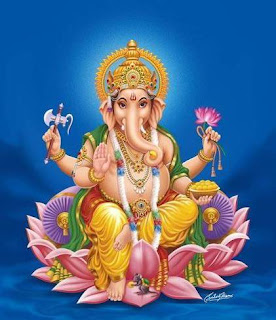 Lord Ganesha, also known as Ganapathi or Ganesh or Pillayar is known as the God of India