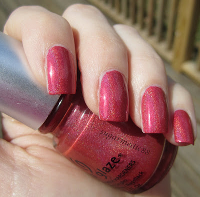 China Glaze TMI Swatch