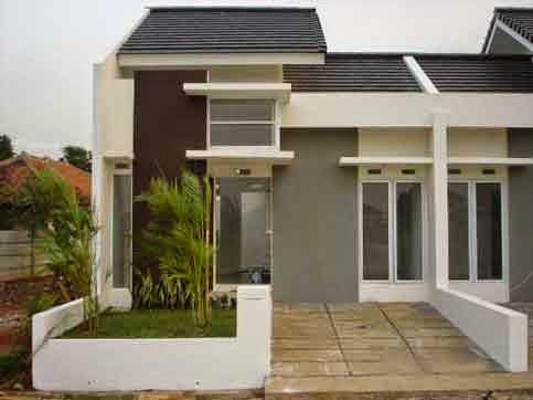 4 contoh gambar rumah minimalis type 21 desain rumah