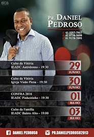 29,30| Junho 01,03 Julho | Curitiba|PR