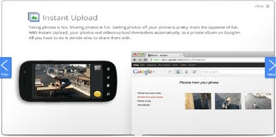 Google Instant Upload