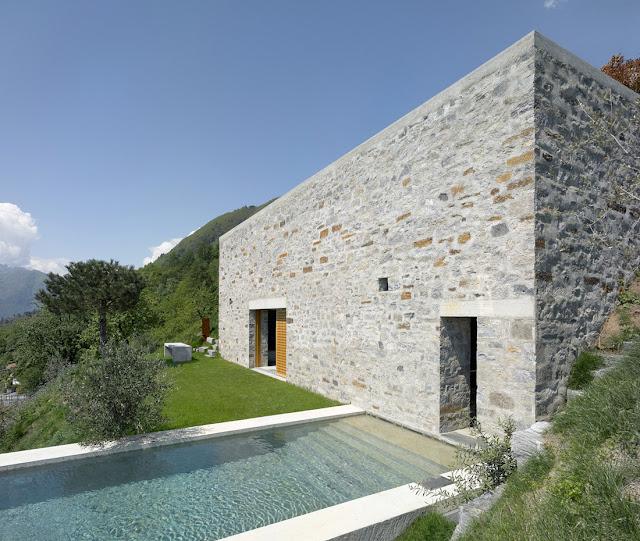 Desigrans Beautiful House House Of Stone Switzerland