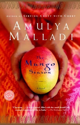 "From the acclaimed author of A Breath of Fresh Air, this beautiful novel takes us to modern India during the height of the summer's mango season. Heat, passion, and controversy explode as a woman is forced to decide between romance and tradition.  Every young Indian leaving the homeland for the United States is given the following orders by their parents: Don't eat any cow (It's still sacred!), don't go out too much, save (and save, and save) your money, and most important, do not marry a foreigner. Priya Rao left India when she was twenty to study in the U.S., and she's never been back. Now, seven years later, she's out of excuses. She has to return and give her family the news: She's engaged to Nick Collins, a kind, loving American man. It's going to break their hearts.  Returning to India is an overwhelming experience for Priya. When she was growing up, summer was all about mangoes—ripe, sweet mangoes, bursting with juices that dripped down your chin, hands, and neck. But after years away, she sweats as if she's never been through an Indian summer before. Everything looks dirtier than she remembered. And things that used to seem natural (a buffalo strolling down a newly laid asphalt road, for example) now feel totally chaotic.  But Priya's relatives remain the same. Her mother and father insist that it's time they arranged her marriage to a ""nice Indian boy."" Her extended family talks of nothing but marriage—particularly the marriage of her uncle Anand, which still has them reeling. Not only did Anand marry a woman from another Indian state, but he also married for love. Happiness and love are not the point of her grandparents' or her parents' union. In her family's rule book, duty is at the top of the list.  Just as Priya begins to feel she can't possibly tell her family that she's engaged to an American, a secret is revealed that leaves her stunned and off-balance. Now she is forced to choose between the love of her family and Nick, the love of her life.  As sharp and intoxicating as sugarcane juice bought fresh from a market cart, The Mango Season is a delightful trip into the heart and soul of both contemporary India and a woman on the edge of a profound life change."