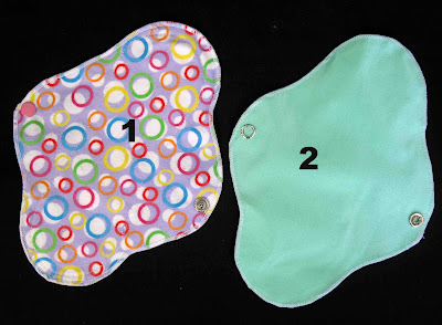 MINI cloth menstrual pad - pantyliner by cucicucicoo