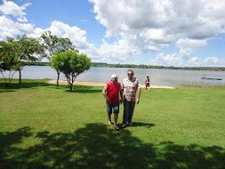 Em Três Lagoas, às margens do Rio Parana, divisa Mato Grosso do Sul e São Paulo
