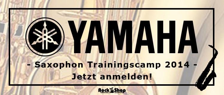 Yamaha Saxophon Trainingscamp mit Dieter Kraus und Ralf Ritscher