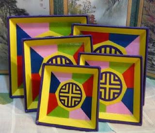 Artisan Handmade Paper Plates  by Jades_Attic
