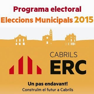 Programa electoral. Eleccions Municipals 2015