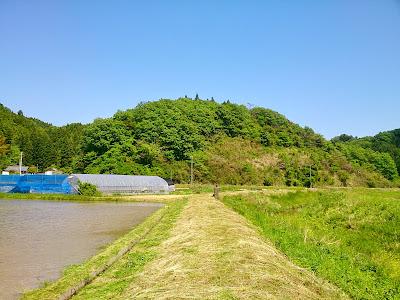 川の土手の草刈り