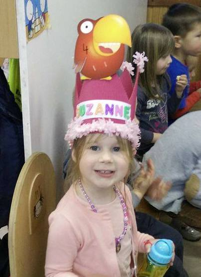 Suzanne is 4!