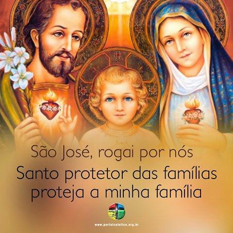 ABENÇOE  TODA  A  MINHA FAMILIA  SÃO JOSÉ
