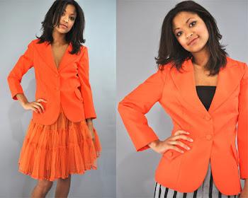 Casaquinho laranja