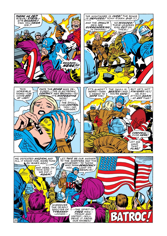Captain America (1968) Issue #104 #18 - English 21