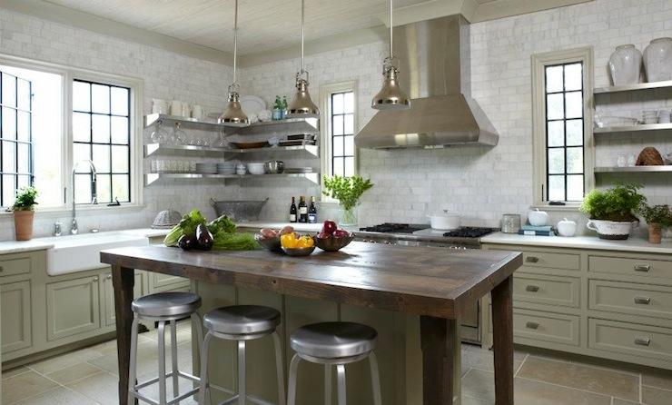 Id es des tag res de cuisine d cor de maison d coration chambre - Idee etagere cuisine ...