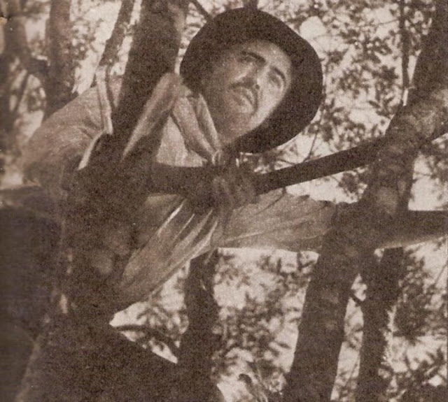 Hugo del Carril en Las aguas bajan turbias 1952