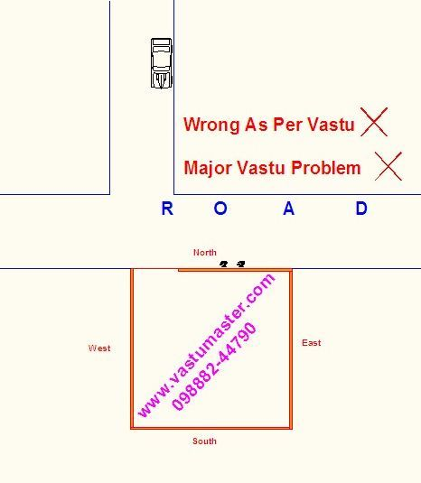 very strong disturbance at the house as per vastu shastra
