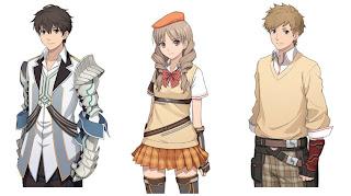 exstetra concept art 1 Japan   Exstetra (3DS/PSV)   Concept Art, Famitsu Scan, Release Date, & A Few Details