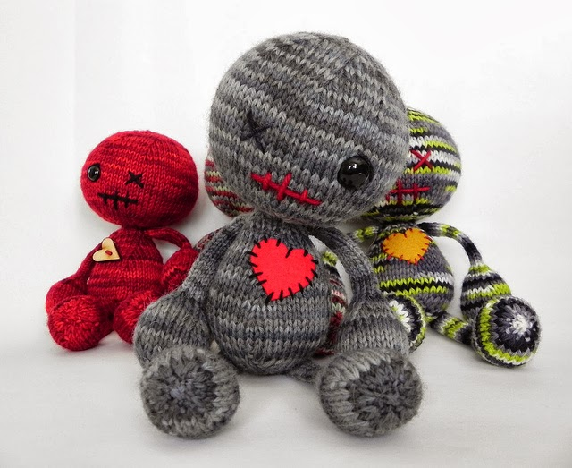 Knitting Pattern Voodoo Doll : The Knitting Needle and the Damage Done: Toys That Go Bump in the Night