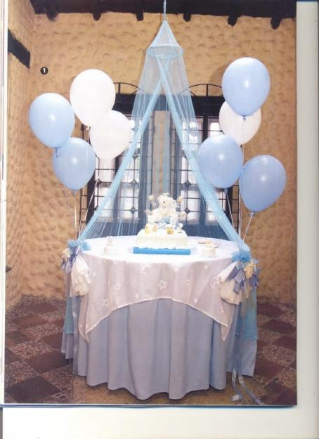 Lau decoraciones baby shower for Decoracion para baby shower en casa