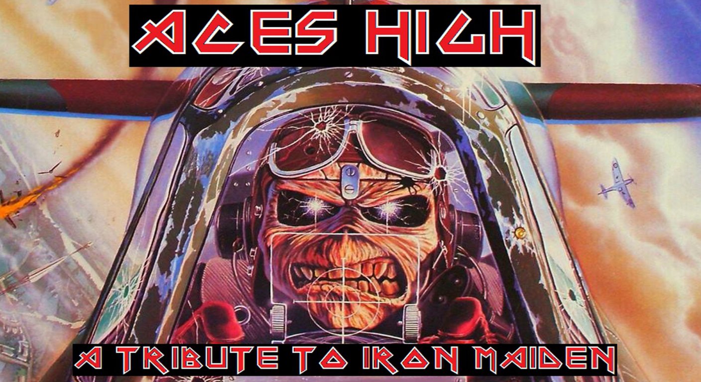 Aces High - A Tribute to Iron Maiden Banner | Banners.com