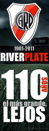 River Plate 110 años - Imagen para Facebook