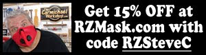 Get 15% off your order at RZMask.com: