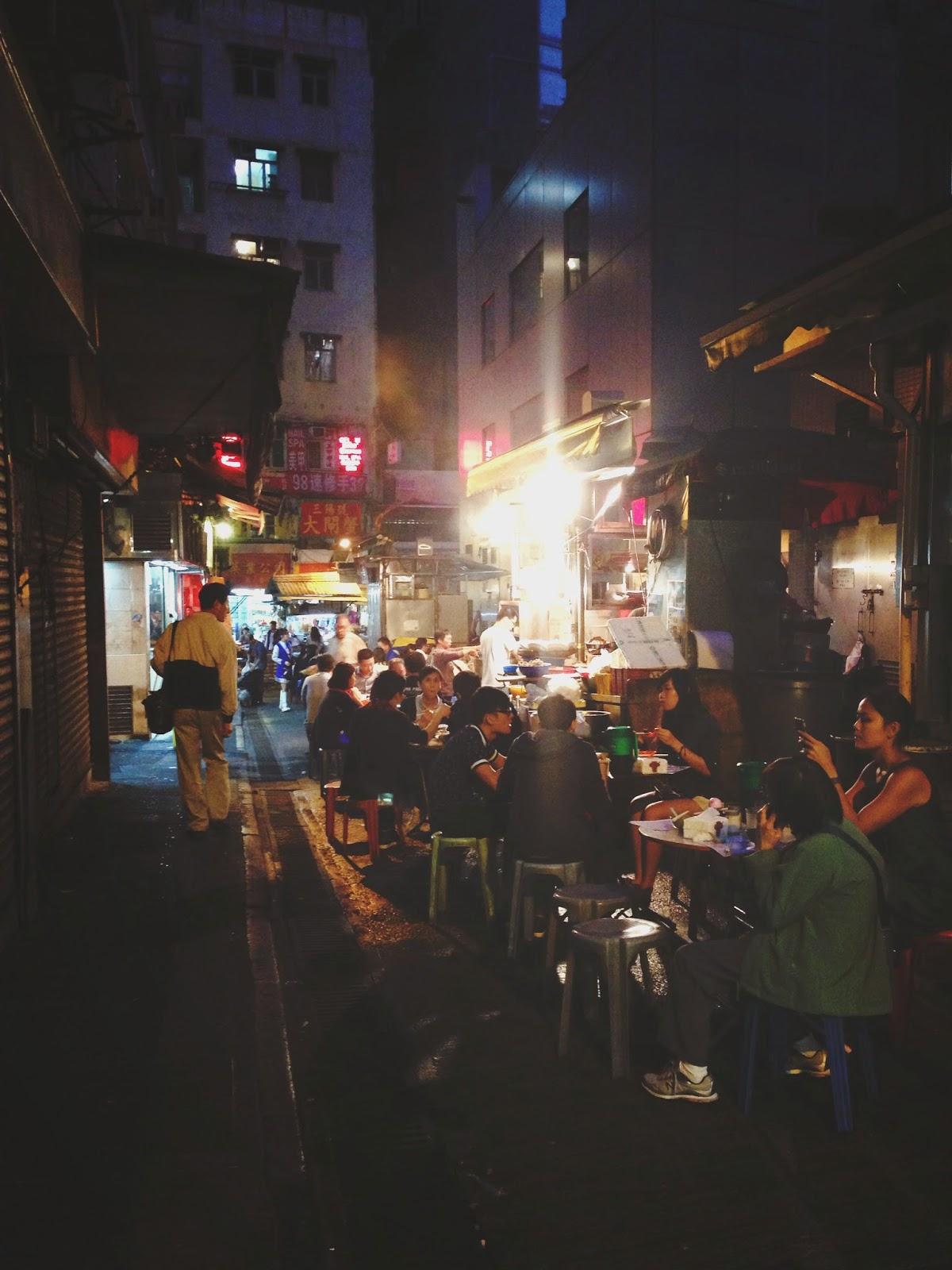 Sing Kee Dai Pai Dong Stanley Street Central Hong Kong