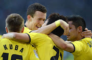O Borussia Dortmund garantiu o título do Campeonato Alemão neste sábado ao .