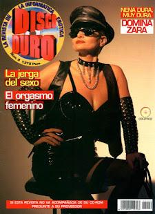 Dómina Zara en la Revista Disco