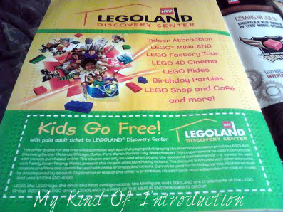 My Kind Of Introduction: LegoLand Coupons in Lego Club Magazine!