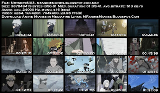 Screenshots Naruto Shippuden Movie 3 Inheritors of the Will of the Fire Anime Download Mediafire