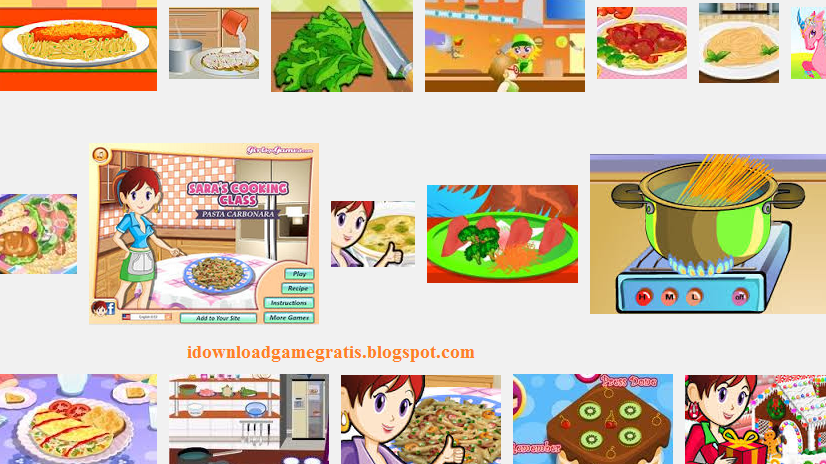 Game Masak Memasak ala Cake Shop 2