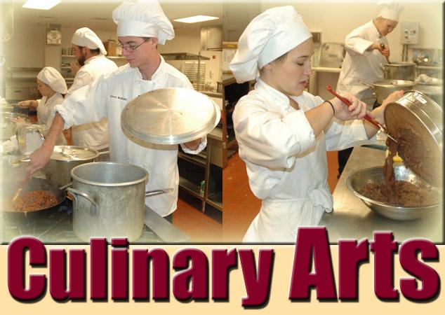 arts career culinary essay