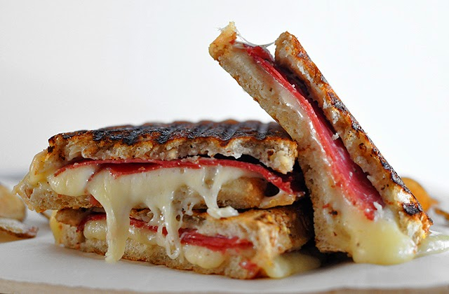 Bresaola and Fontina Grilled Cheese | Mogwai Soup