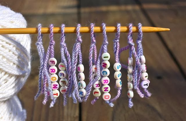 Knitting Markers Uk : The knitting needle and damage done stitch markers