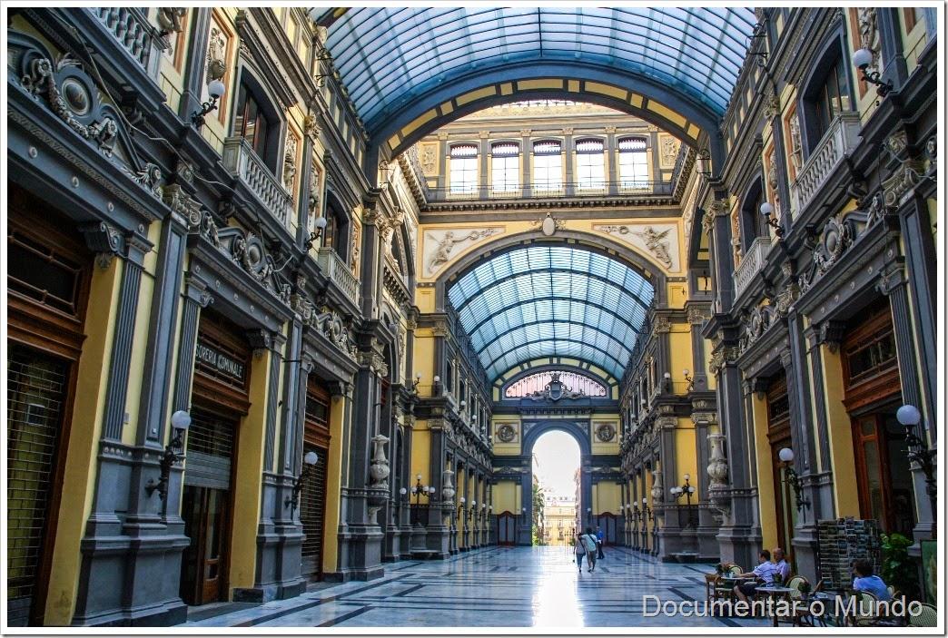 Galerias Principe di Napoli, Nápoles, Itália