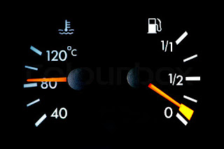 temperatur mobil