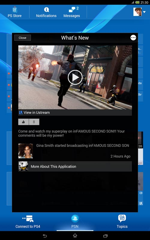 PlayStation®App 3.0.7