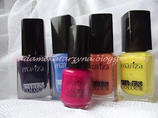 Lakierowy zawrót głowy♥♥♥tetnie kolorki od Marizy