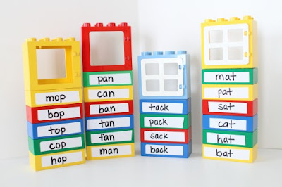 http://www.icanteachmychild.com/word-family-lego-buildings/