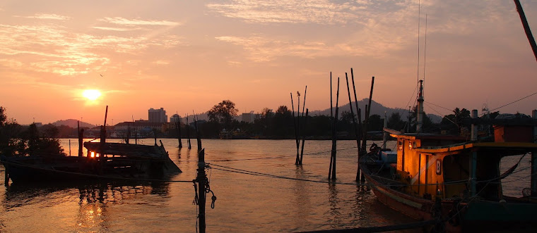 Sunset @ Tg. Lumpur
