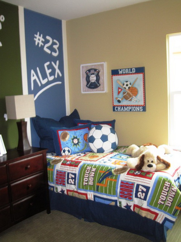 Toddler Boys Sports Bedroom Ideas bathrooms models ideas: kids sports themed bedroom ideas
