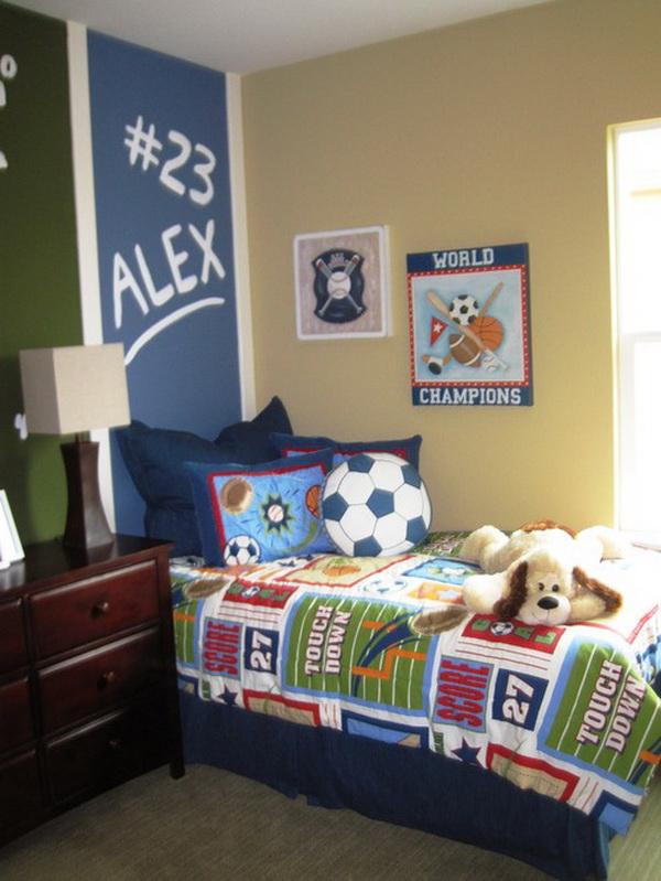 Kids Sports Room Ideas bathrooms models ideas: kids sports themed bedroom ideas
