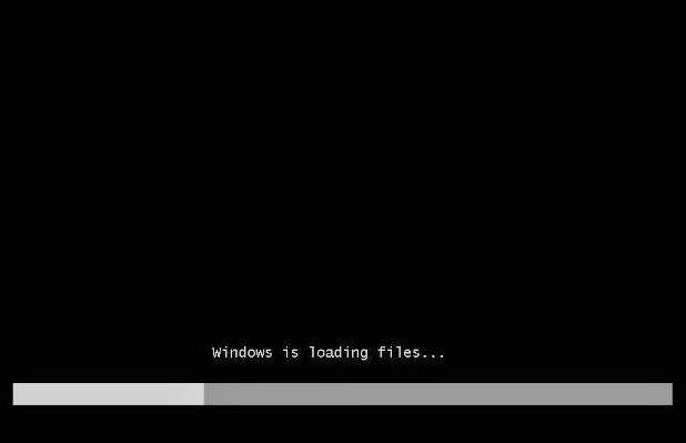 Loading Booting Windows dari Flashdisk