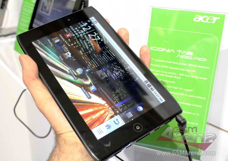 Spotted: Acer Iconia Tab A100 Pinoy Metro Geek