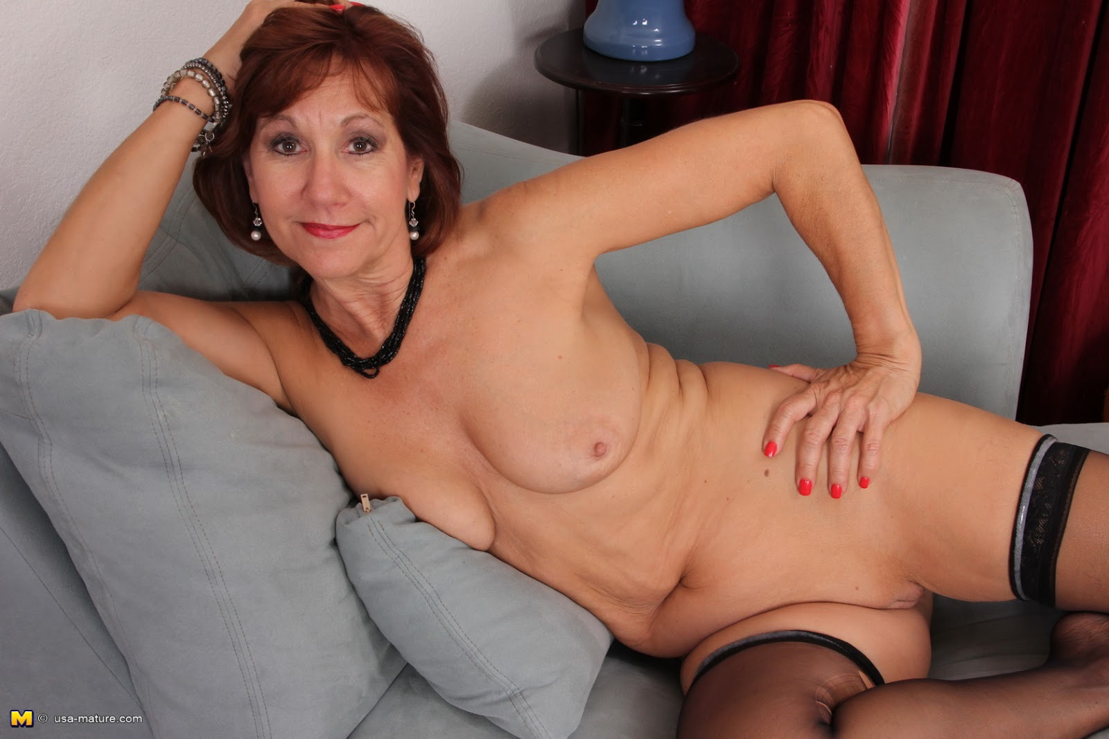 Sweet sexy old woman
