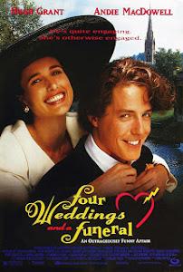 Ver Película Cuatro bodas y un funeral Online (1994)