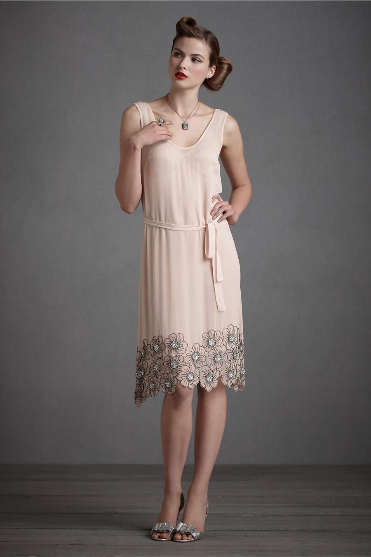 111 - Boncuk ��lemeli Elbise Modeli