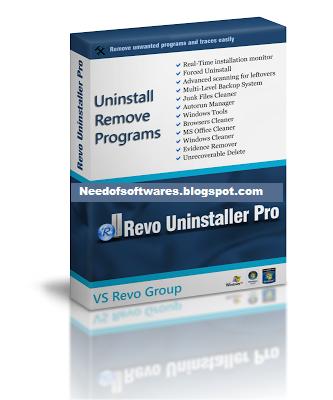 Uninstall Software, Remove Programs ... - Revo Uninstaller Pro