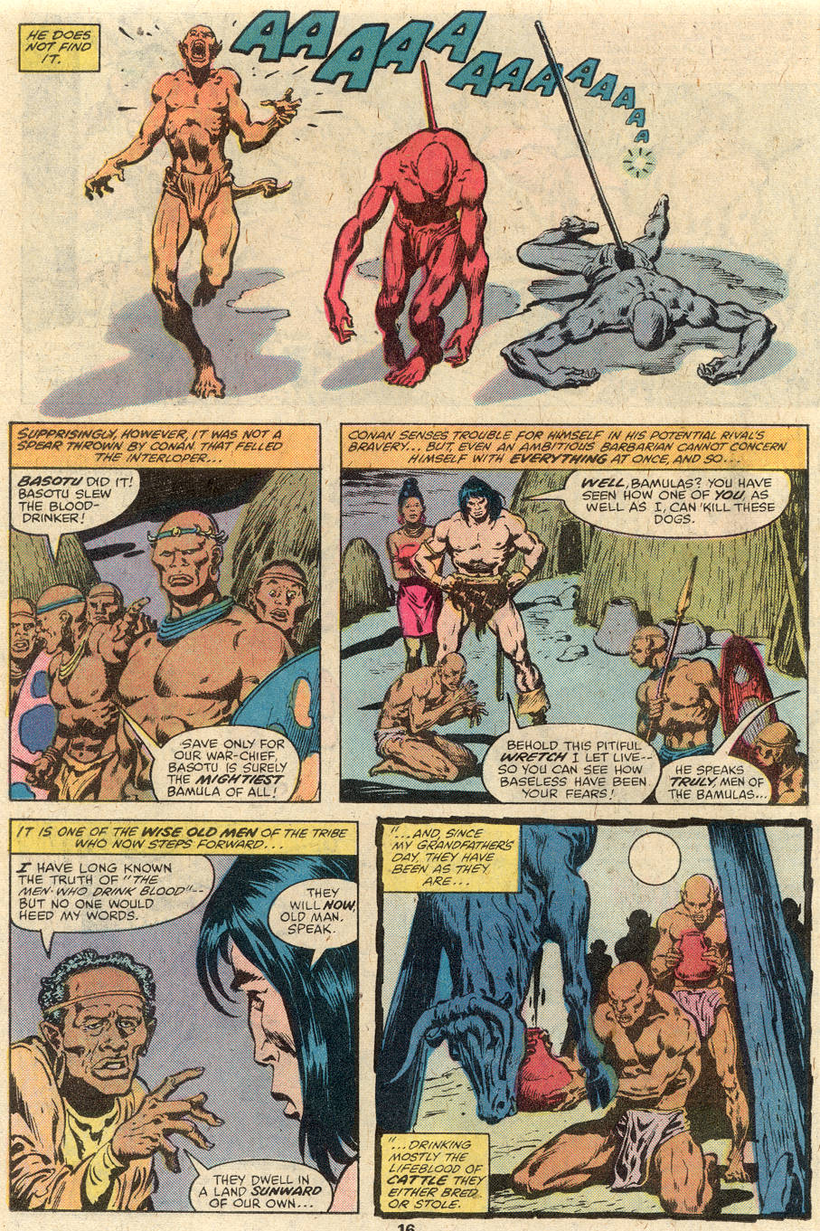 Conan the Barbarian (1970) Issue #102 #114 - English 11